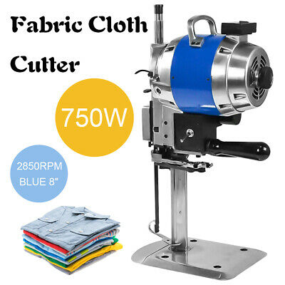 "Electric Cloth Cutter 8""Fabric Leather Cutting Machine Auto Sharpening Clothes"