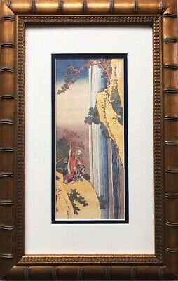 "Katsushika Hokusai ""Ri Haku 1832"" New Custom Framed Asian Art Japanese"