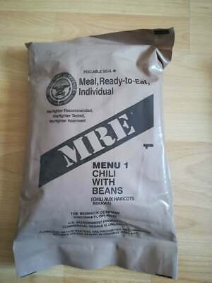 MRE US ARMY Menü 1 Chili with Beans