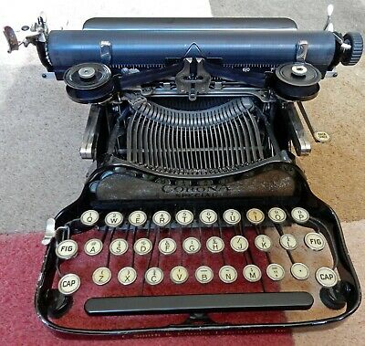 LC.SMITH & CORONA SPECIAL PORTABLE TYPEWRITER c1920s ORIGINAL CARRY CASE