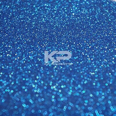 AFINA BLUE GLITTER MICRO FLAKES Kp Pigments Car Paint Additive 25 Grams