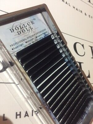 Dollce Doll EASY FAN Self Fanning Lashes Soft Matte Russian Eyelash Extensions
