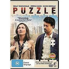 Puzzle Dvd, New & Sealed, 2019 Release, Region 4, Free Post