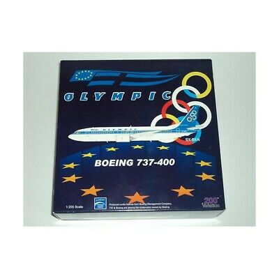 INFLIGHT 1/200 BOEING 737-400 OLYMPIC LIMITED EDITION (312 pieces)ITEM:AV2734001