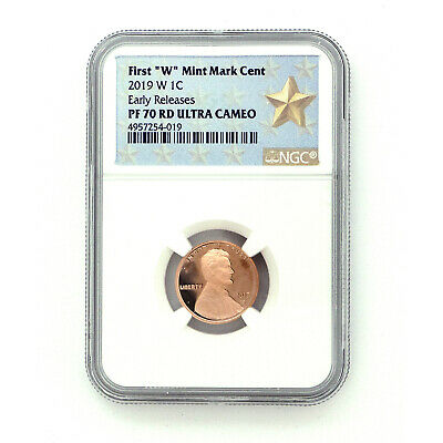 Presale! 2019 W NGC PF70 ER Lincoln Shield Cent - West Point Mint Special Issue
