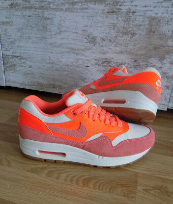 ORGINAL NIKE WMNS AIR MAX 1 VINTAGE Turnschuhe36,5CREME MANGO Orange ... Reparieren