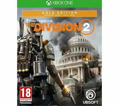 XBOX ONE Tom Clancy's The Division 2 - Gold Edition - Currys