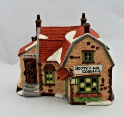 Dept 56 Dickens Village Series Booter and Cobbler 5924-2
