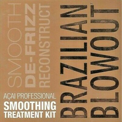 Brazilian Blowout Professional Smoothing Treatment Kit   | *4 Packets Included