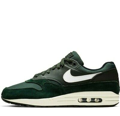 competitive price f1bdd 03055 Men s NEW Nike Air Max 1 Outdoor Green Black Sail AH8145-303 Authentic