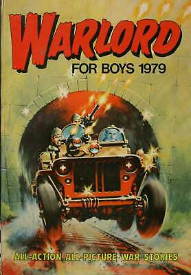 Unknown, WARLORD for boys 1979 ( annual ), Hardcover, Very Good Book