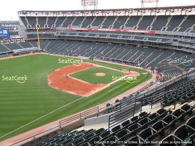 1 Cleveland Indians @ Chicago White Sox 2019 Ticket! 5/14/19 Sec 548, Row 1!
