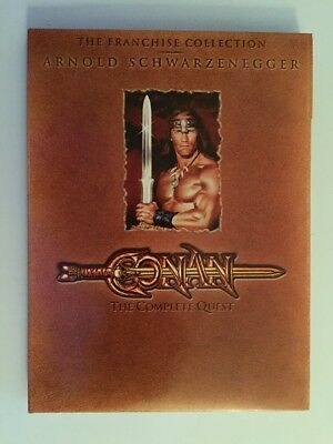 Conan: The Complete Quest (DVD, 2004, 2-Sided Disc)