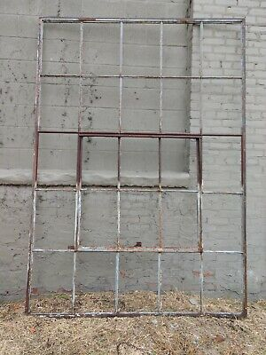 Reclaimed Vintage Industrial Factory Steel Casement Window Big!