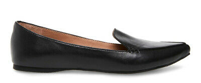 8bfdcf45331 SOFFT WOMEN S 8M BRYCE Black Leather Tassel Loafers Flats Shoes NIB ...