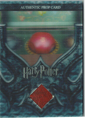 Harry Potter World in 3D Series 2 Prop Card P4 Quaffle and Bludgers #160/270