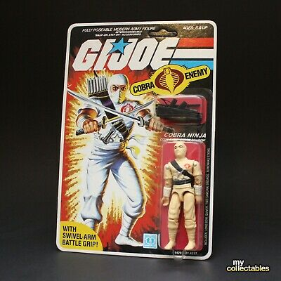 GI JOE Vintage 1983 Storm Shadow - MOC! ARAH