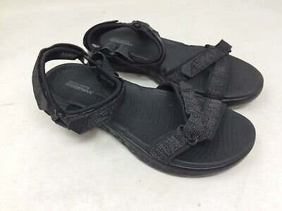d396d9cf6688 NEW! WOMEN S SKECHERS 15315 On the Go 600 Radiant Sandal Black B17 ...