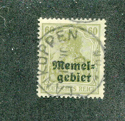 German,Germany,Stamps. Memel  # 10  Used  No Faults