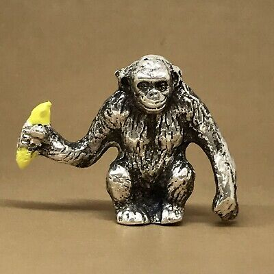 2.00 Troy oz. 99.9% Hand Poured Silver Bullion Monkey *Rev Tye's* #3.2.00.3575