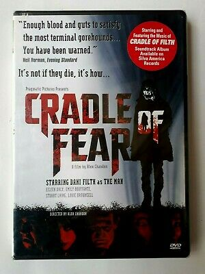 Cradle Of Fear DVD 2003 Region1 Brand New Sealed