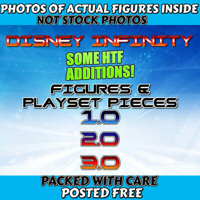 15/03  Choice Of ✨DISNEY INFINITY FIGURES ✨ 1.0,  2.0,  3.0 Boxed for Posting