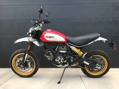 2017 Ducati Other  Ducati Scrambler Desert Sled - Red