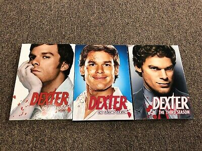 Dexter Seasons One, Two, Three DVD Box Set Seasons 1, 2, 3