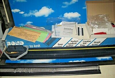 ORIGINAL BOND KNITTING MACHINE - Complete and Never Used