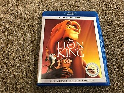 Disney The Lion King  The Circle of Life Edition Blu-Ray and DVD 2 Disc Set