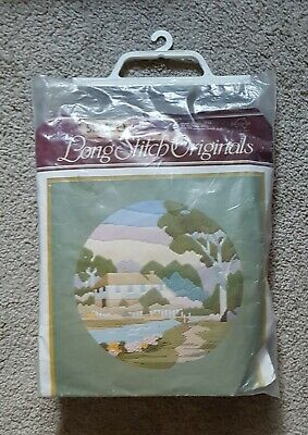Home In The Hills Semco Originals Long Stitch Kit