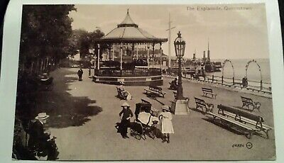 Queenstown Esplanade With Emigrant Pier (Titanic) And Boats Local Made Postcard