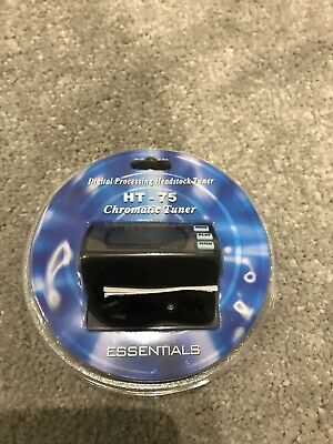 Essentials HT-75 Chromatic Clip On Guitar Tuner Digital Processing BNIB