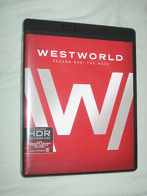 Westworld The Complete Second Season 1 (Blu-ray Disc Only) with Original Case