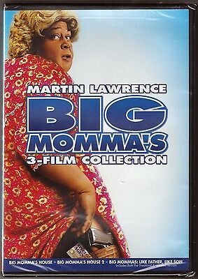 Big Momma's Collection 1, 2 & 3 - DVD Triple Film House Like Father BRAND NEW