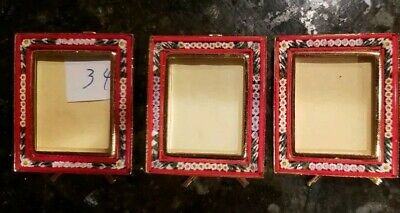 Picture Frames Italian Micro Mosaic Picture Frame Filippini And Paoletti Rectangle Style#6 Antiques