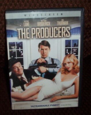 The Producers DVD Nathan Lane Uma Thurman (pre-owned)