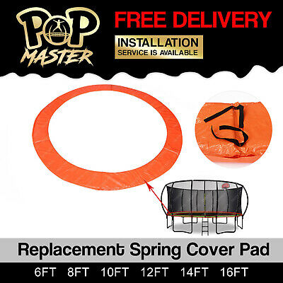 Replacement Trampoline Spring Safety Pad Cover Round 8ft 10ft 12ft 14ft 16 foot