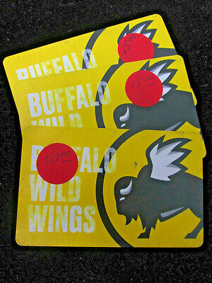 Buffalo Wild Wings Gift Cards $80.00