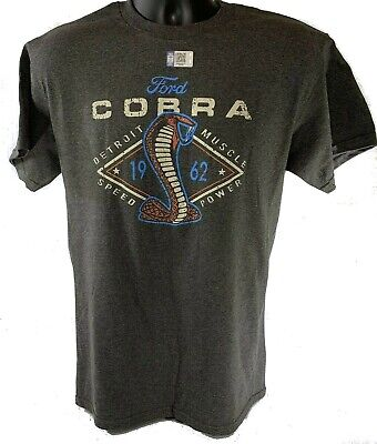 T-Shirt w/ 1962 Ford Shelby Cobra Emblem / Logo (Licensed)