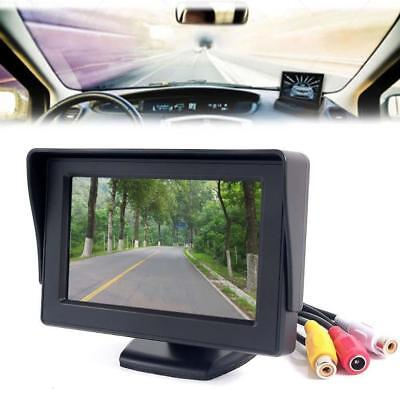 "Car 4.3"" TFT LCD Color Rearview Monitor for DVD GPS Reverse Backup Camera Fad XI"