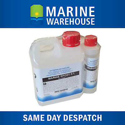 1.2L Marine Epoxy Resin and Hardener Kit - Fiberglass 5:1 Resin kit - 7514
