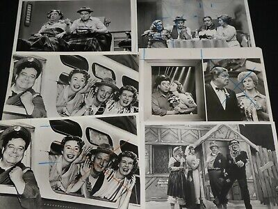"6 x TV Press Kit Photos ~ 8x10 ""The Honeymooners"" Jackie Gleason Audrey Meadows+"