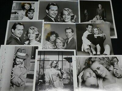 "15 x TV Press Kit Photos ~ 8x10 ""Moonlighting"" Bruce Willis Cybill Shepherd +++"