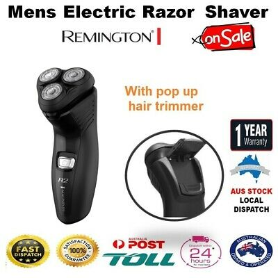 Remington Mens Electric Shaver Razor Pop Up Trimmer Facial Stubble Beard Hair
