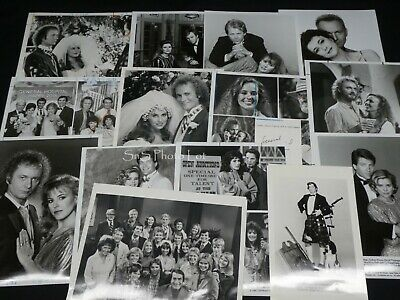 "16 x TV Press Kit Photos ~ 8x10 Soap Opera ""General Hospital"" Genie Francis +++"