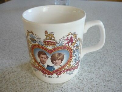 Royal Wedding Mug Charles and Diana- Made In England