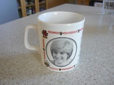 Royal Wedding Mug 1981 Prince Charles and Diana - Made In England