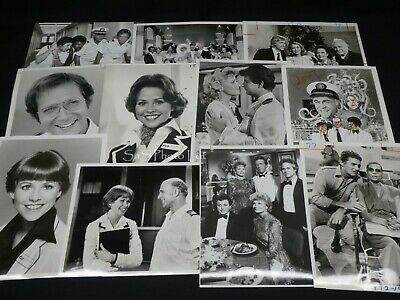 "23 x TV Press Kit Photos ~ 8x10 ""The Love Boat"" incl. Premiere Episode & Cast"