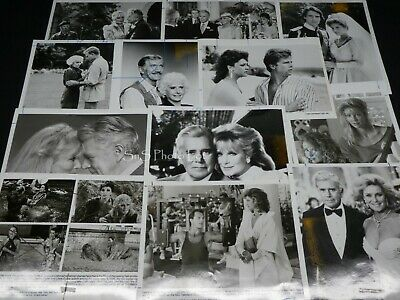 "39 x TV Press Kit Photos ~ 8x10 ""Dynasty"" Joan Collins Heather Locklear & More"